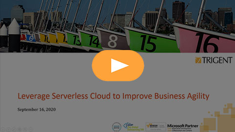 Leverage Serverless Cloud to improve business agility
